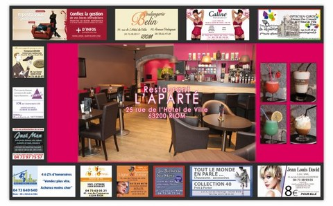 Restauration serviette nape nappe t te a t te Set de table publicitaire prix